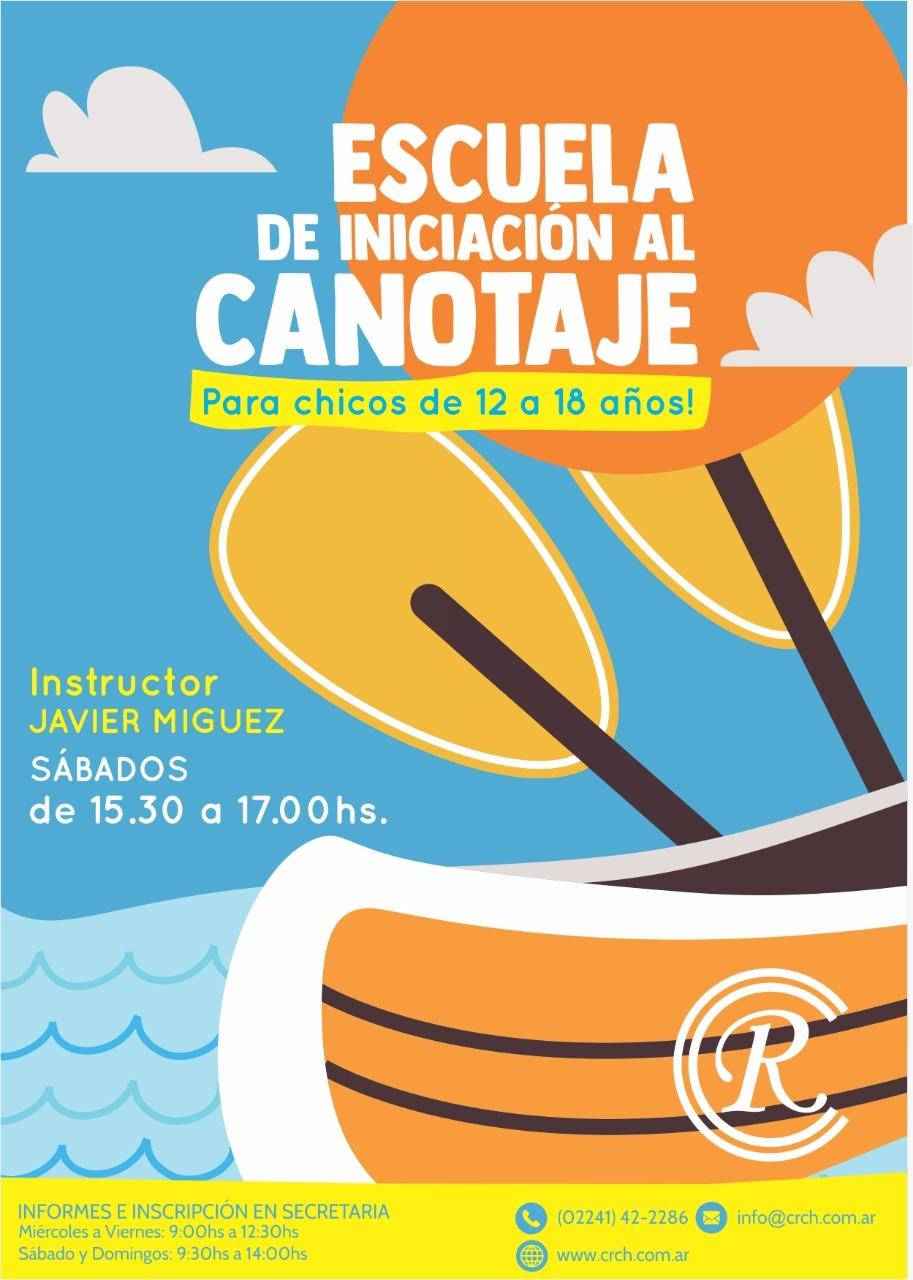 Escuela de Iniciación al Canotaje