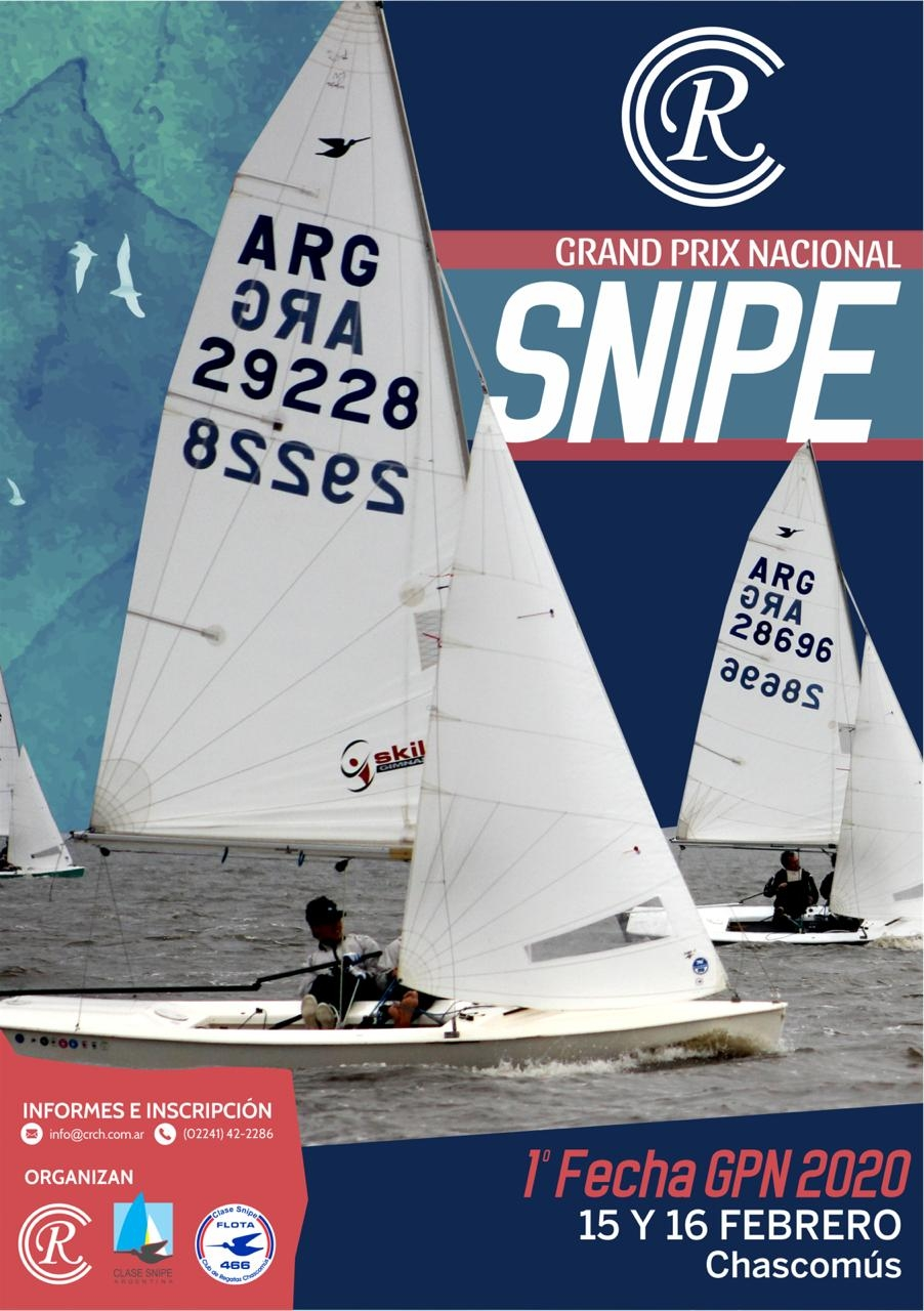 Primera Fecha del Grand Prix Nacional 2020 Clase Snipe